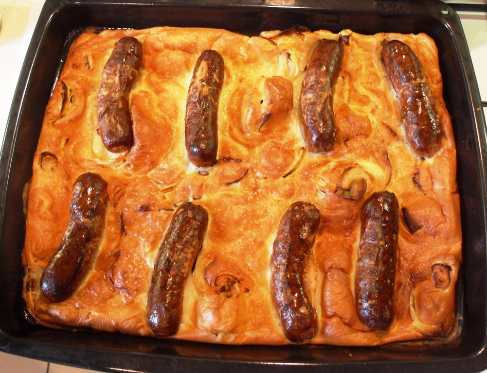 Toad in the Hole with Onion Gravy - Fab Food 4 All