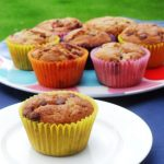 Strawberry Banocolate Muffins