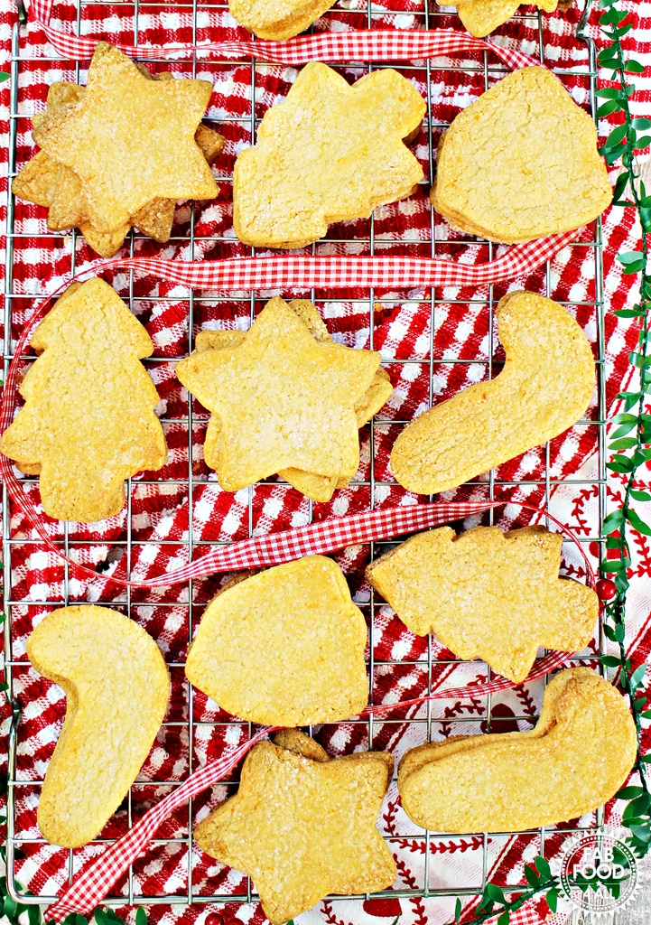 Crispy Clementine Cookies - Fab Food 4 All