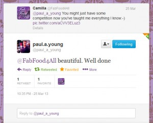 Paul A Young Tweet