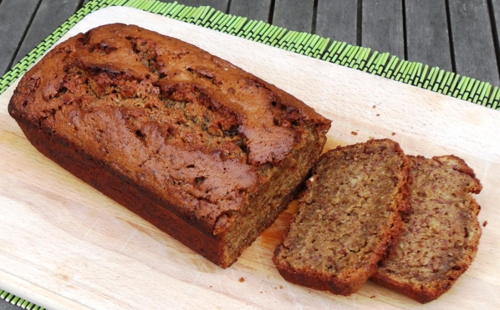 Spelt Banana Bread, Sophie Dahl, Sharpham Park, Bowel Cancer UK