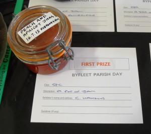 Byrleet Parish Day 1st Prize Winning Jam