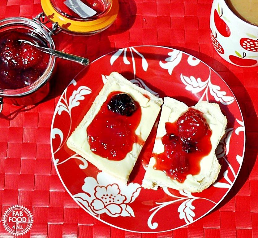 Summer Fruits Jam - Fab Food 4 All