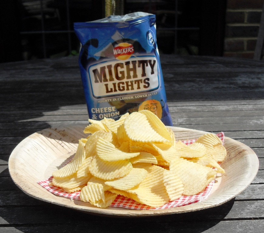 Cheese & Onion Crisps, low fat