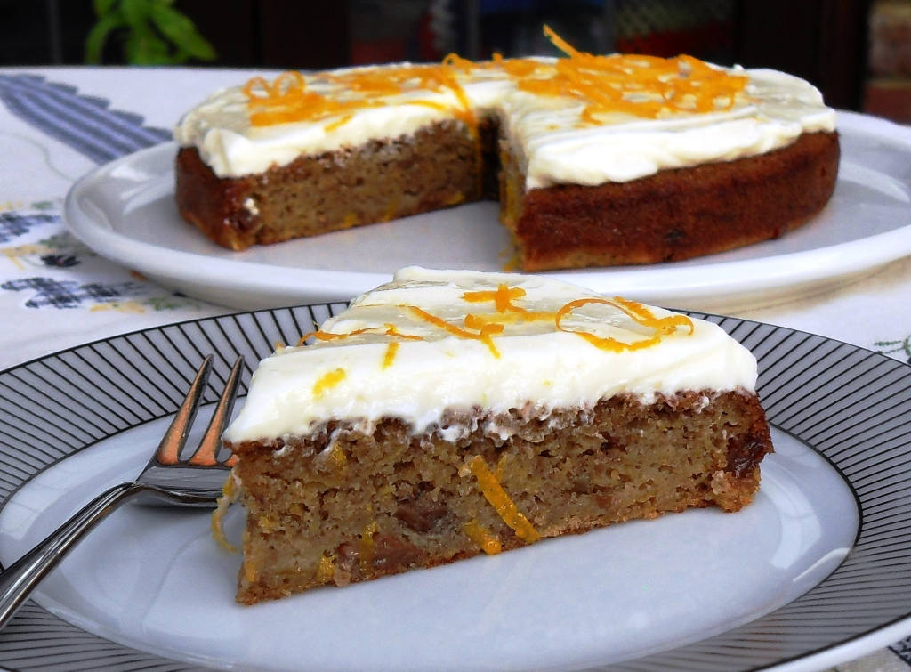Autumn, alternative to Carrot Cake, Wholegrain Spelt, Easy, Quick