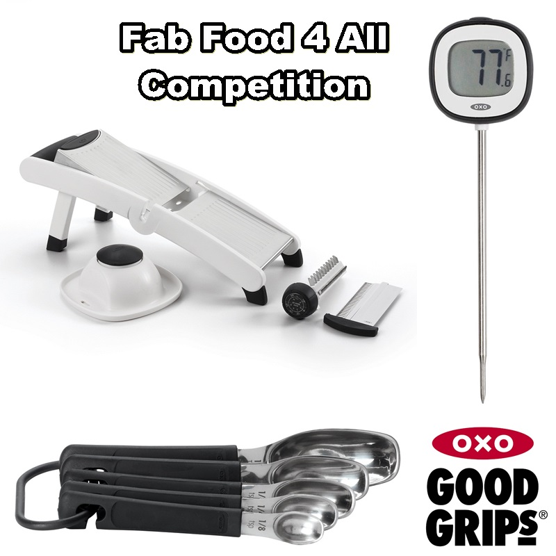 Oxo Good Grips Chef's Mandoline, Spice Spoons, Digital Thermometer
