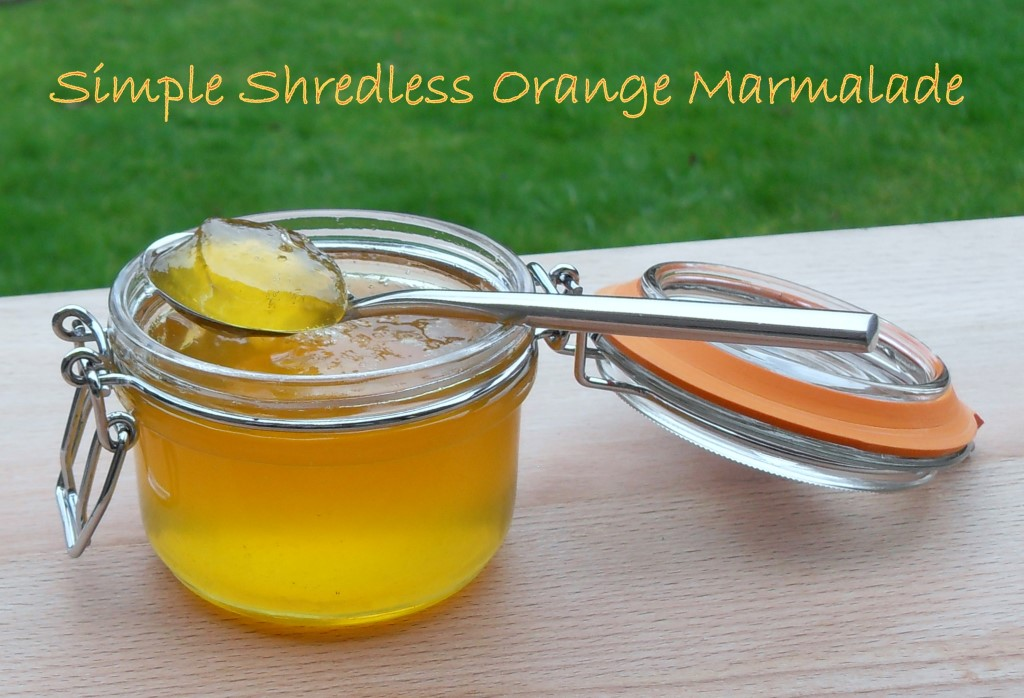 No seville orange marmalade, easy, simple, no muslin