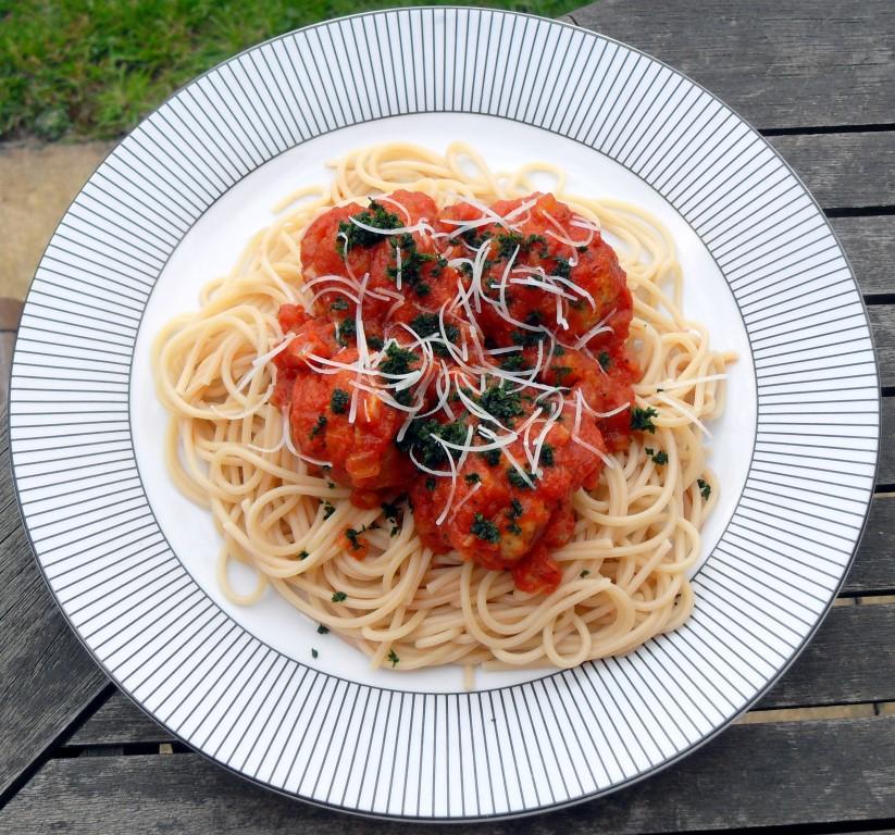 Spanish, Turkey mince, pasta, cheddar
