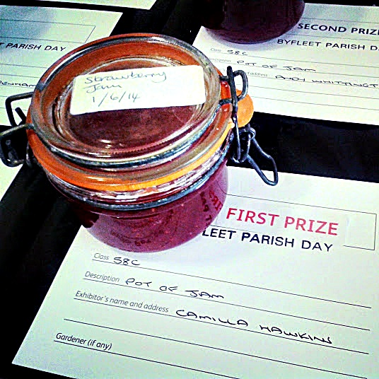 Byfleet Parish Day, Winning Jam, recipe, easy, simple, quick