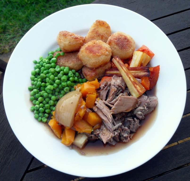 Leg of lamb, slow cooker, crock pot, slow roast, Easter, spring lamb