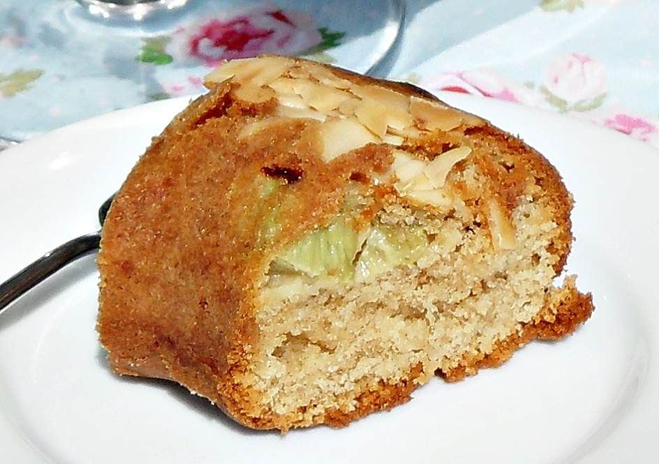 German Apple Cake With Marzipan