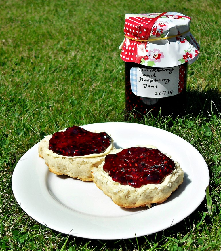 Conserve, preserve, bramble, foraging, award winning jam maker, easy