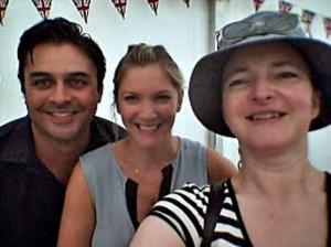 BBC Good Food Festival Hampton Court, 2014, Dhruv Baker, Lisa Faulkner, Fab Food 4 All, Camilla Hawkins