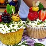 Woking Food & Drink Festival, Frances Quinn, Orange Bee Cupcakes