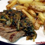 Steak & Blue Cheese from Gousto, meal kit, quality food, delicious