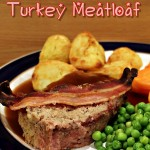 Turkey Meatloaf, Christmas, quick, easy, sage and onion stuffing, cranberry sauce, sausage meat, frugal, festive, roast dinner alternative, trimmings, pigs in blankets, christmas dinner