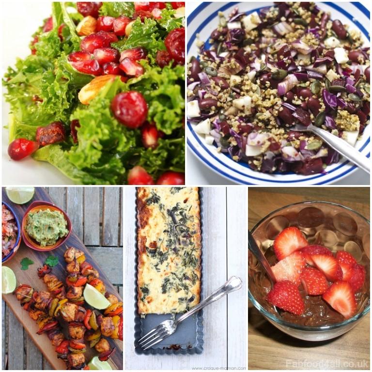10 Healthy Recipes, healthy eating, diet, low fat, high fibre,
