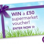 a2 Milk £50 Supermarket voucher competition