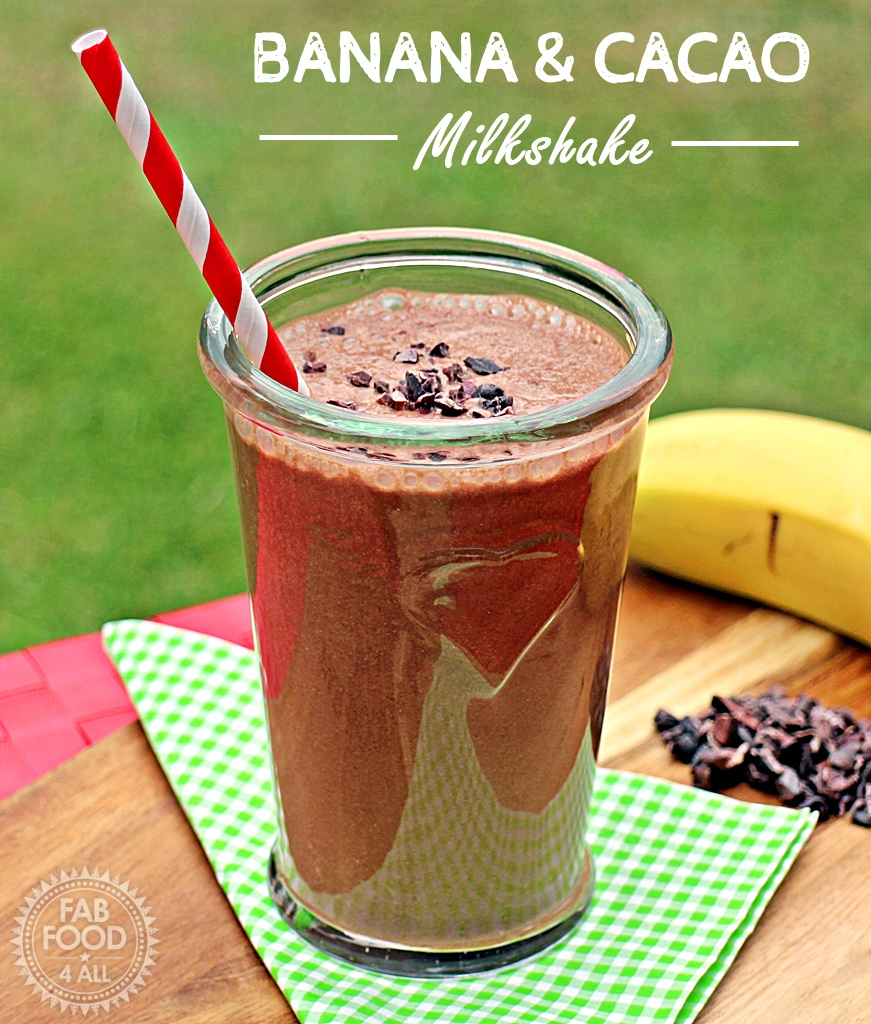 Banana & Cacao Milkshake