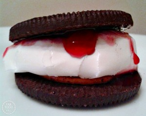 Peanut Butter & Jelly Oreo S'more