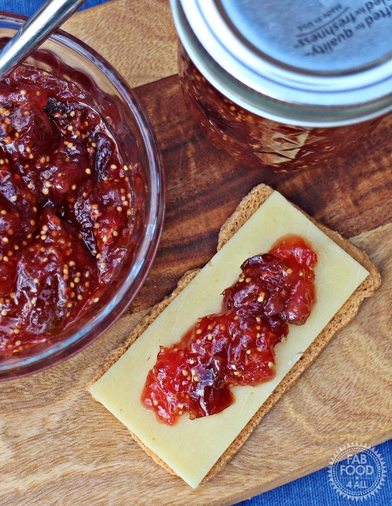 how to make fig jam uk