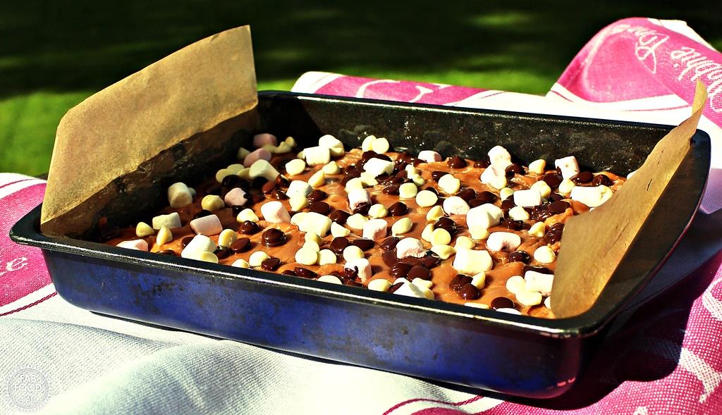 Rocky Road Fudge - Fab Food 4 All