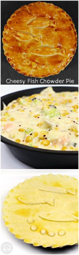 Cheesy Fish Chowder Pie - Fab Food 4 All