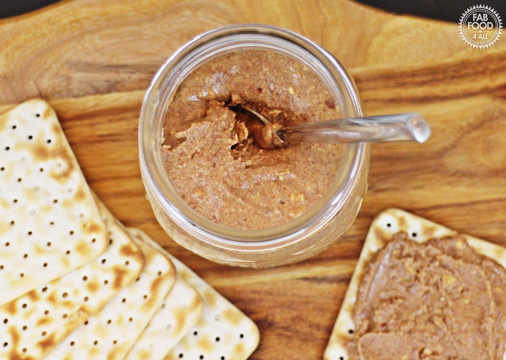 One Ingredient Crunchy Peanut Butter