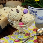 Caramel Ice Cream with Easter Eggs - Fab Food 4 All