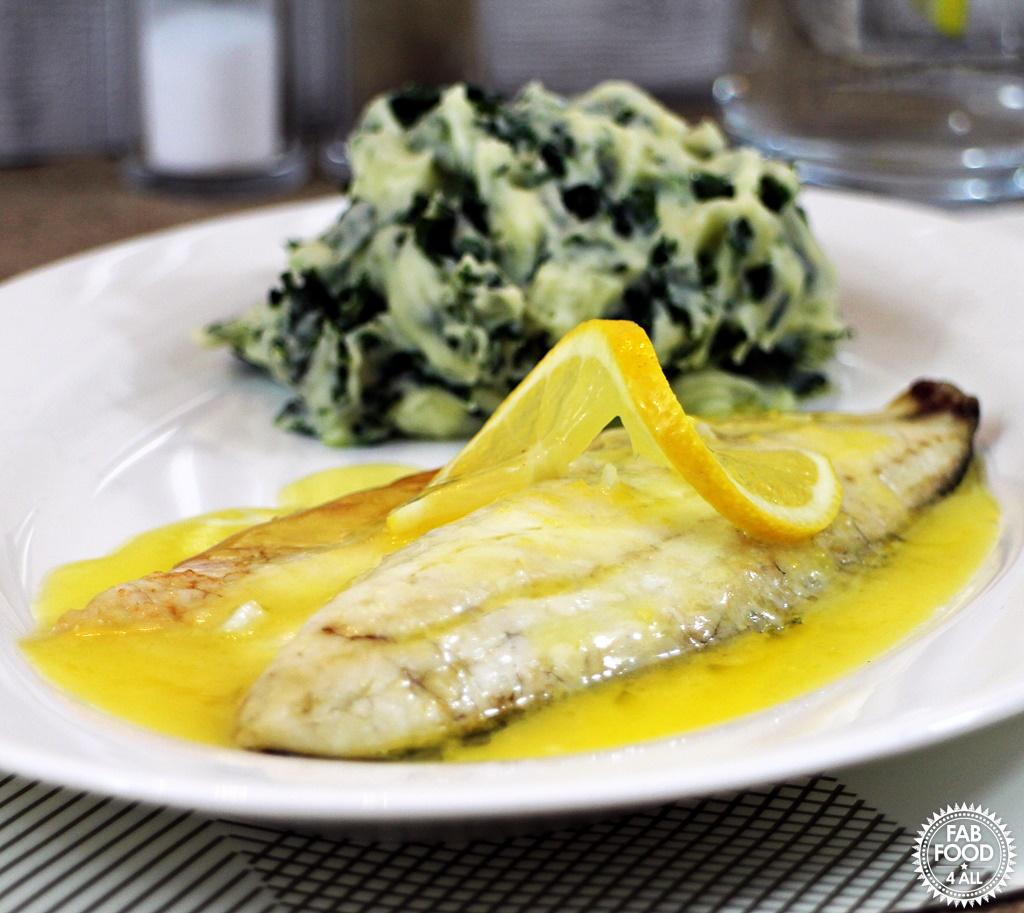 Sea Bass With Lemon Sauce Recipe — Dishmaps
