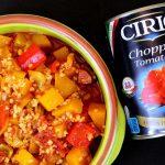 One Pot Butternut Squash and Chorizo Casserole - Fab Food 4 All