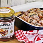 Macabella Croissant Pudding - filled with chocolatey, nutty yumminess! Fab Food 4 All