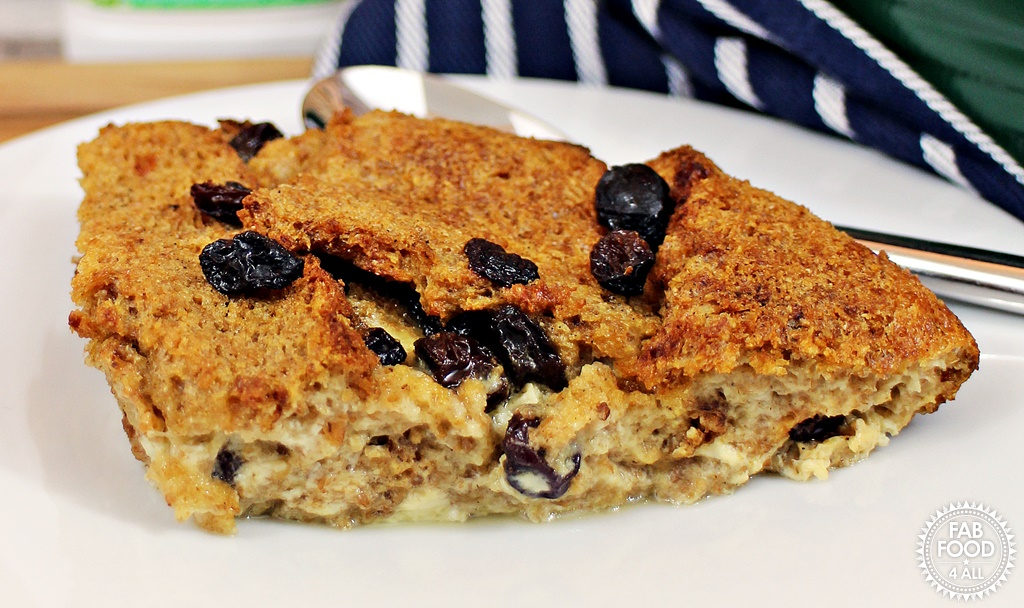 Wholemeal Bread & Butter Pudding - the healthier alternative! Fab Food 4 All