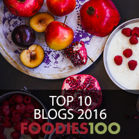 Foodies 100 Top 10 Blog