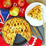 Spiced Apple Lattice Pie - Fab Food 4 All