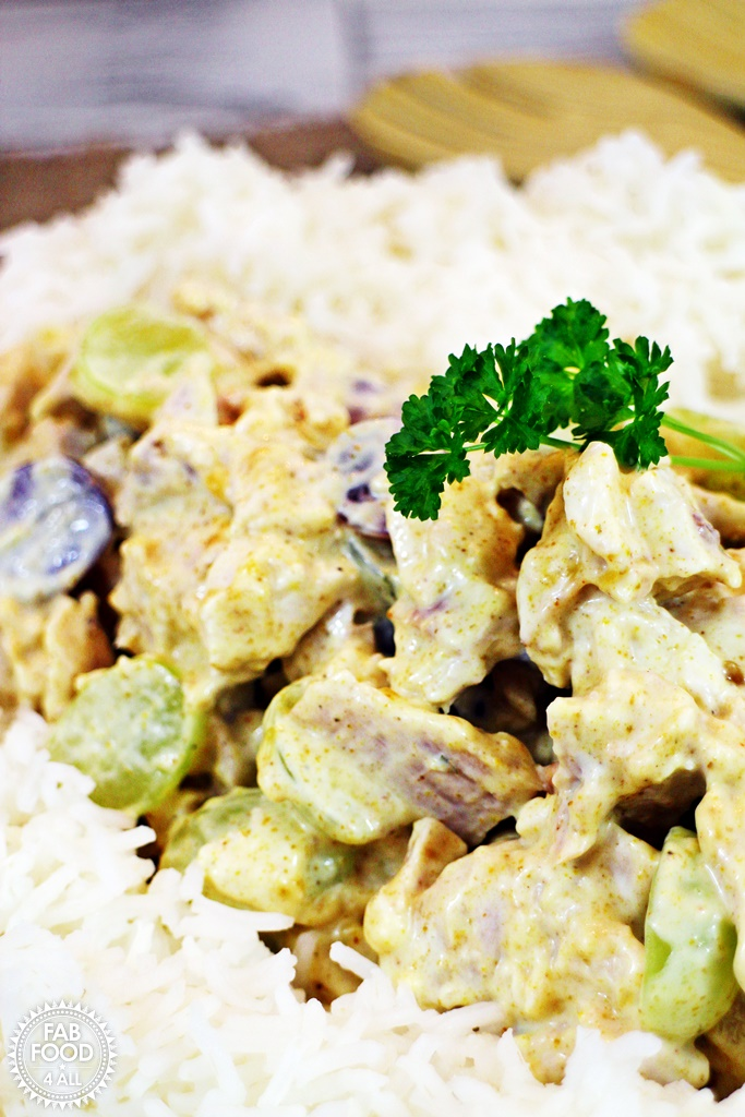 how to make coronation chicken sandwich filling