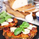 Pizzetta Toast - quick, easy and gluten free! @FabFood4All