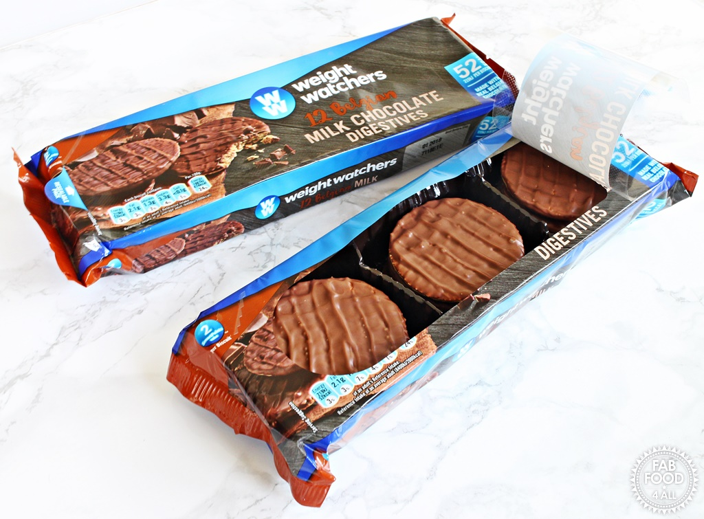 Weight Watchers Belgian Milk Chocolate Digestives review - Fab Food 4 All