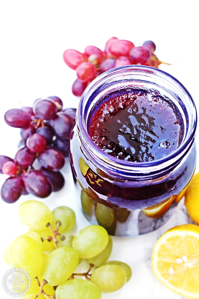 how to make grape jam with pectin