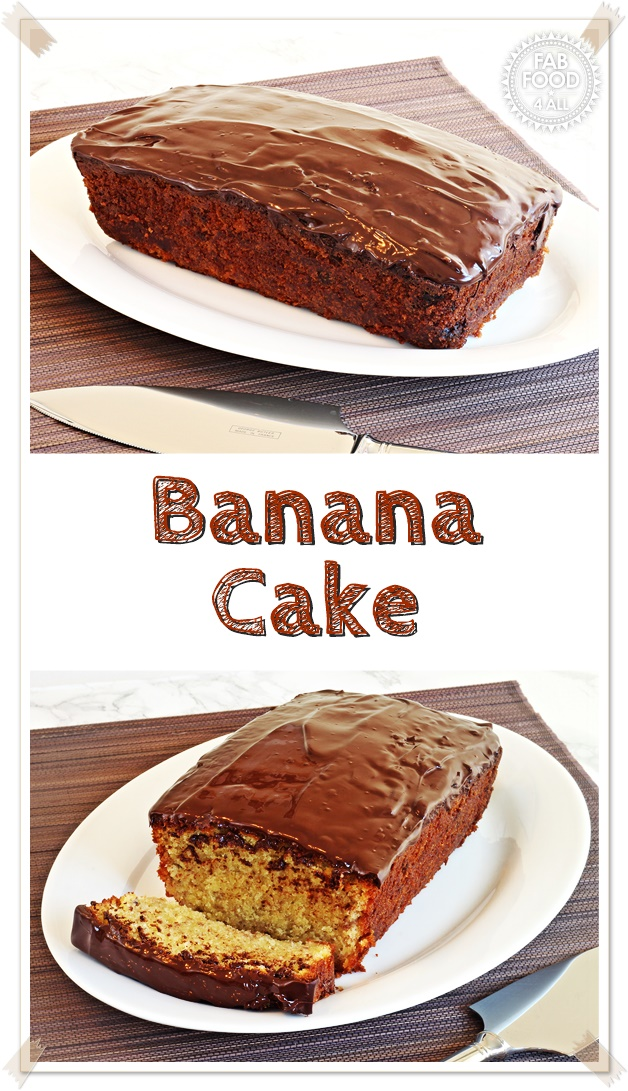 Banana Cake, a fab recipe handed down from my mum! - Fab Food 4 All