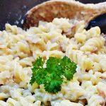 Cheesy Tuna Pasta, pure comfort food! Fab Food 4 All