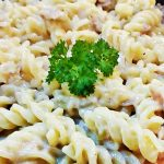 Cheesy Tuna Pasta, pure comfort food! Fab Food 4 All