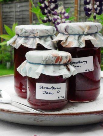 3 jars of Strawberry Jam
