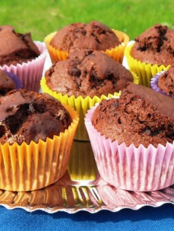 Banocolate Chip Muffins + Oxo Hand Held Mixer Giveaway – Closed