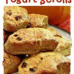Spooky Yogurt Scrolls Pinterest image.