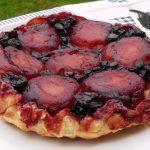 Easy, Apple & Blueberry Tarte Tatin, pudding, dessert