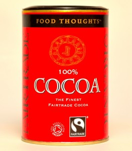 Food Thoughts Cocoa Organic Fair Trade