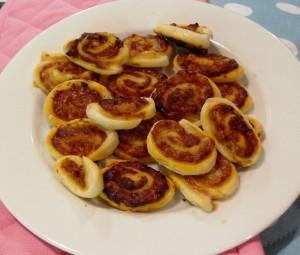 Bomba Bites - little pinwheels of deliciousness!