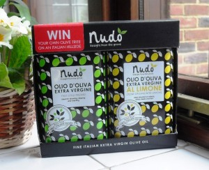 Nudo Extra Virgin Olive Oil Duo with Lemon Oil