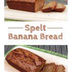 Spelt Banana Bread from Sophie Dahl - the most delicious banana bread I've ever had! Fabulously easy 1 stage method! #banana #bananabread #bananacake #bananarecipes #SophieDahl #cake #baking #cakerecipe #onestagecake